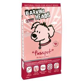 Сухой корм Barking Heads для собак, беззерновой, лосось/картофель, 12 кг.