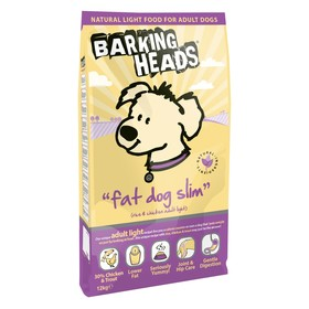 Сухой корм Barking Heads для собак с избыточным весом, курица/рис, 12 кг.