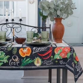 Скатерть «Этель: Delicious Fresh», 110 × 150 см, хлопок 100 %, саржа, 190 г/м²