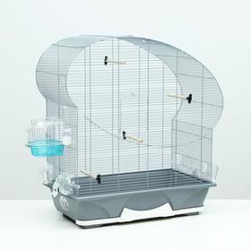 Клетка для птиц ELLIPSE 50, серая