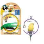 """Игрушка  PENN-PLAX """"Качели со счетами, колокольчик"""", для птиц"""
