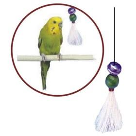 "Игрушка PENN-PLAX ""Кисточка с бубенчиком"", для птиц, малая"