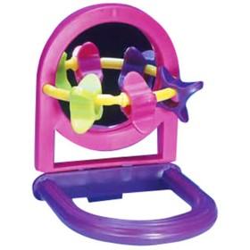 "Игрушка PENN-PLAX ""Зеркало с игрушками"", для птиц"