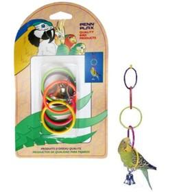 "Игрушка PENN-PLAX ""Олимпийские окна"", для птиц, малые"