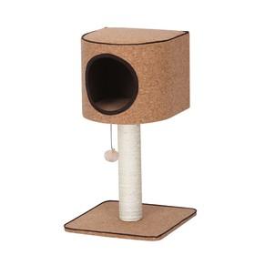 Игровая площадка Fauna INT COSIMO, для кошек, коричневая