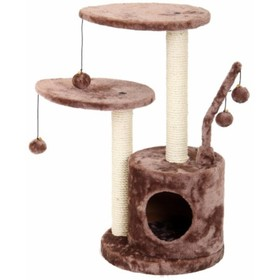Игровая площадка Fauna INT STUDIO, для кошек, светло-коричневая