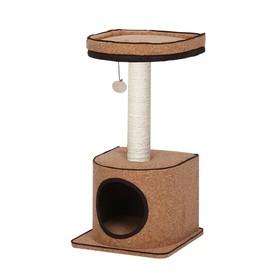 Игровая площадка Fauna INT BONSI, для кошек, коричневая