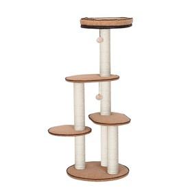 Игровая площадка Fauna INT DEGO 40 х 40 х 77 см, коричневая