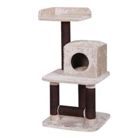 Игровая площадка Fauna INT BUERE, для кошек,  крем./т.коричневая