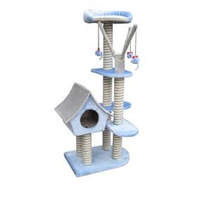 Игровая площадка Fauna INT SAGRADA, для кошек, голубая