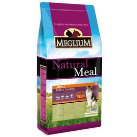 Сухой корм MISTER PET MEGLIUM ADULT для кошек, курица/индейка, 15 кг
