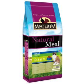 Сухой корм MISTER PET MEGLIUM ADULT для кошек, говядина, 15 кг