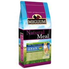 Сухой корм MISTER PET MEGLIUM ADULT для кошек, говядина/курица/овощи, 15 кг