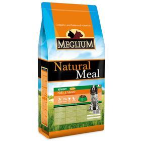 Сухой корм MISTER PET MEGLIUM SPORT GOLD для собак, 15 кг.