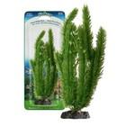 Растение PENN-PLAX CLUB MOSS, 18см, с грузом, зеленое