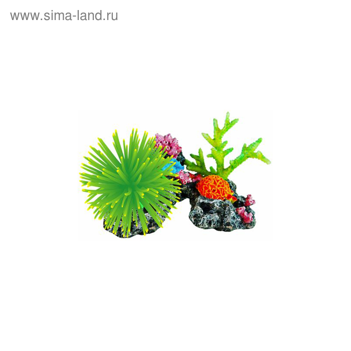 "Декорация Fauna INT ""Кораллы"", 20х11х14см"