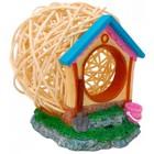 Дом Fauna INT HAMSTER HOUSE  для грызунов, дерево/пластик