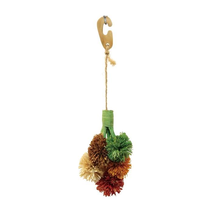 "Игрушка Fauna INT ""Цветы"", для грызунов,  28х8см, кукуруза"