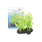 Растение Fauna INT HIDROCOTYLE, 10см, с грузом, бело-зеленое