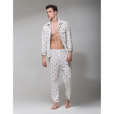 Пижама мужская 8-145 цвет МИКС, р-р 2XL
