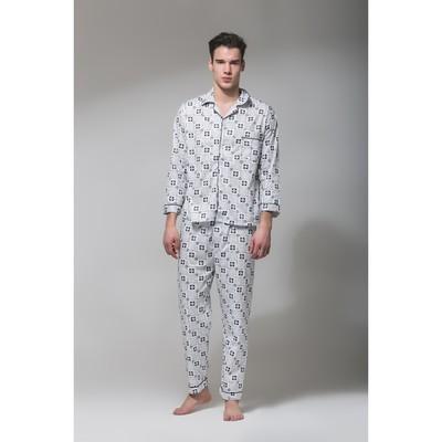 Пижама мужская 8-146 цвет МИКС, р-р 2XL