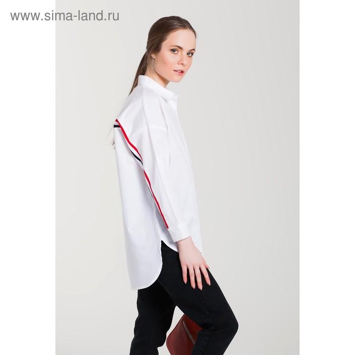 Блуза женская 61020 цвет белый, р-р 48 (XL/42)