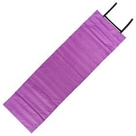 Коврик складной 170 х 51 см, цвет фиолетовый/розовый
