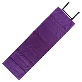 Коврик складной 170 х 51 см, цвет фиолетовый/сиреневый
