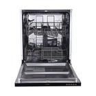 Посудомоечная машина Flavia BI 60 Delia, 12 комплектов, класс А++, черный