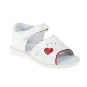 Туфли летние арт. 855-1 (белый) (р. 27) (17 см)
