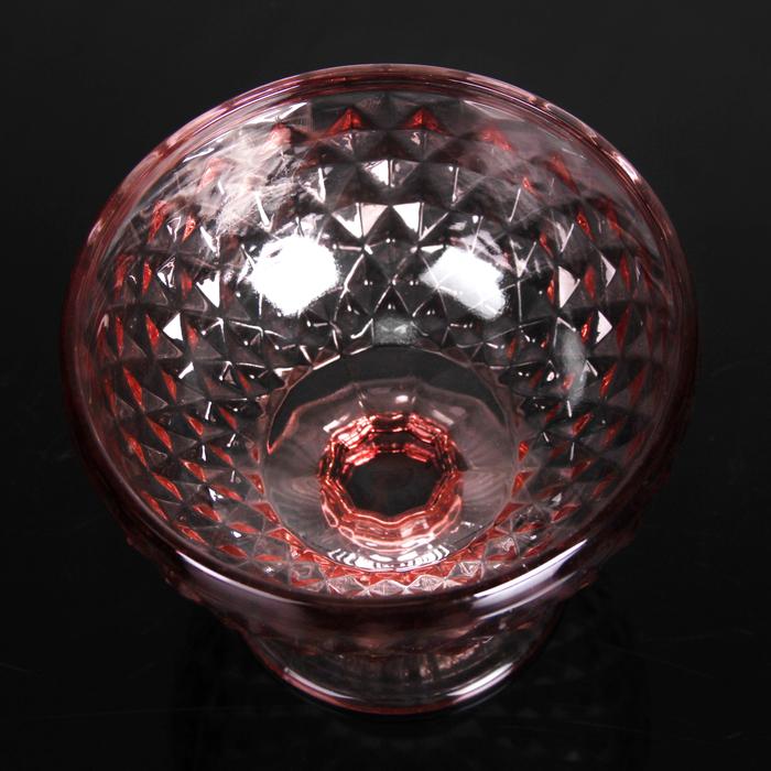 """Креманка 250 мл """"Элегия"""", цвет розовый"""