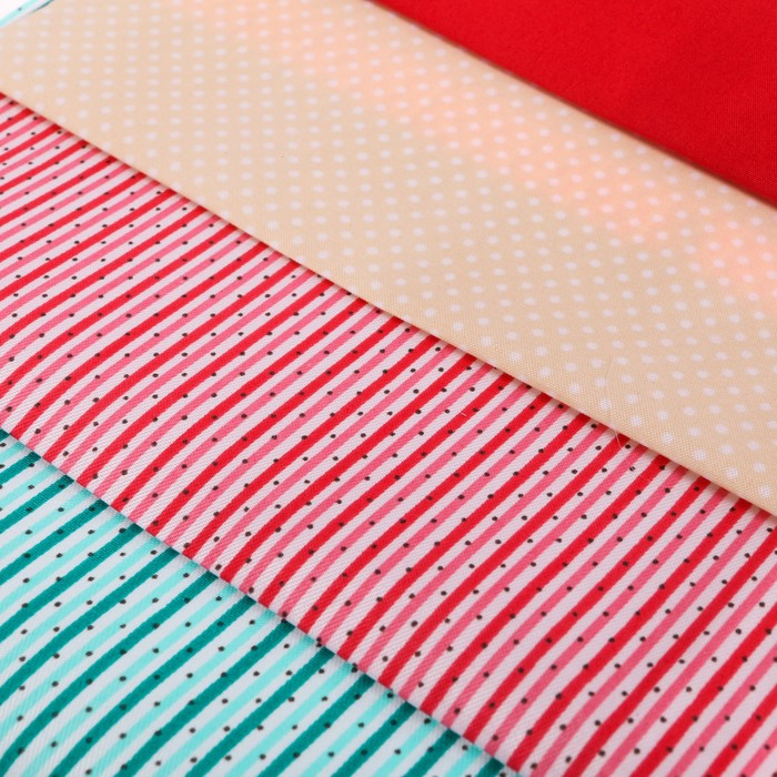 Набор тканей «Вдохновение лета» , 18 х 30 см