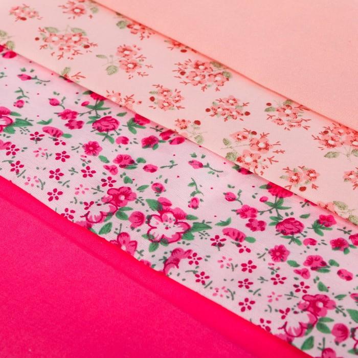 Набор тканей «Нежность» , 18 х 30 см