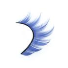 Ресницы накладные, с клеем, цвет голубой
