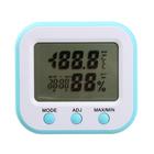Термометр электронный с гигрометром и подсветкой, пластик