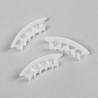 Держатель для поддержки кисти томатов, набор 50 шт., белый
