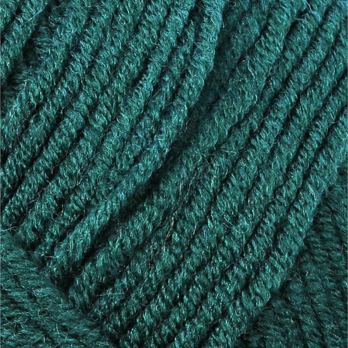 """Пряжа """"Lanagold"""" 51% акрил, 49% шерсть 240м/100гр (426 т. зелёный) - фото 702123460"""