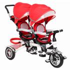 Велосипед трехколесный Black Aqua Twins, цвет красный