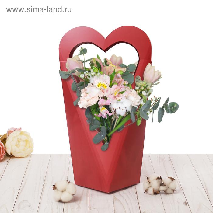 Коробка–сердце «С любовью», 45 х 46 см