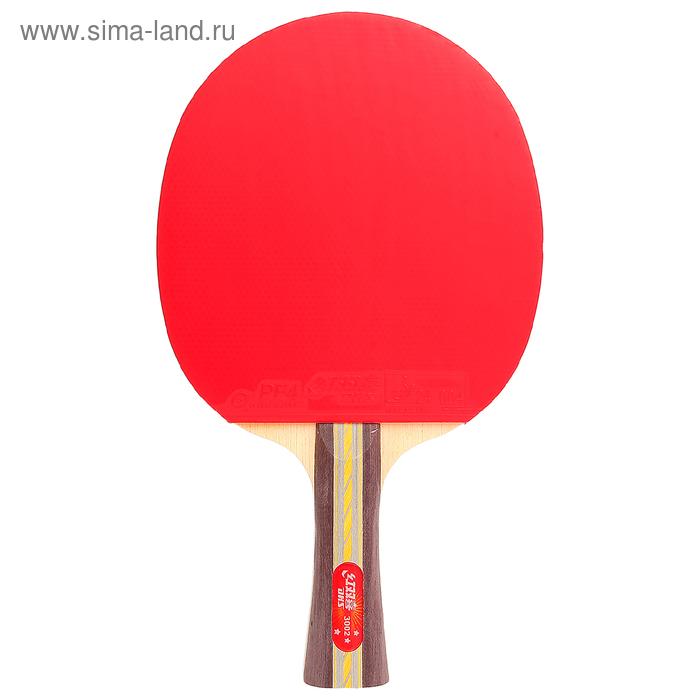 Ракетка для настольного тенниса DHS R3002, 3***, коническая ручка