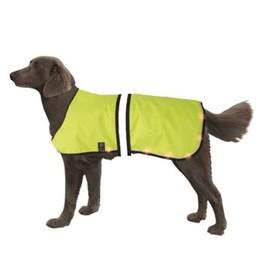 Попона Nobby для собак, светодиодная, на аккум, 55-75/70-95см, желтая