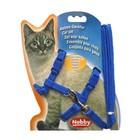 Шлейка Nobby для кошек, синяя