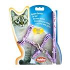 Шлейка Nobby LOVE для кошек, лиловая