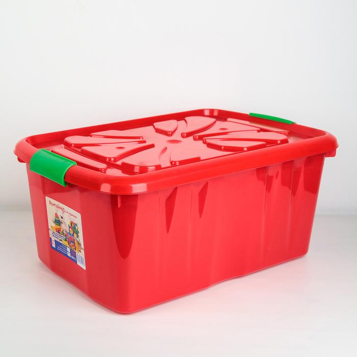 Контейнер для хранения детских игрушек Милих, 35 л, цвет МИКС