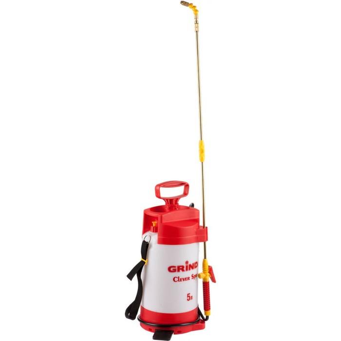 Опрыскиватель помповый, 5 л, GRINDA Clever Spray