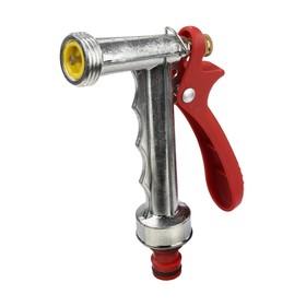 Пистолет-распылитель, штуцер, металл, GRINDA Classic Quick Connection System