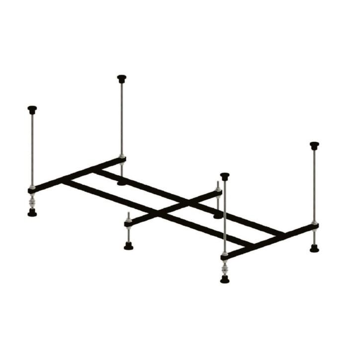 Каркас для ванны IDDIS 001, 150 см, разборный, универсальный
