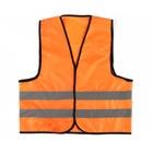 """Жилет """"Автомобилист"""", оксфорд 240 гр/кв.м, оранжевый, cоответствует ГОСТу"""