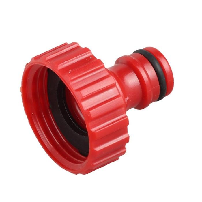 """Коннектор стартовый, d=1"""" (25 мм) - внутренняя резьба, пластик, GRINDA"""