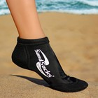 Носки для пляжного волейбола VINCERE SHORT ANKLE SPRITE BLACK SAND SOCKS  XL